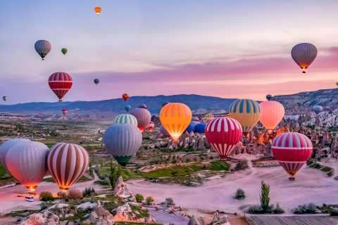 Cappadocia Balloon Flight and Underground City Tour