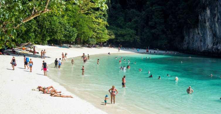 Krabi: Half-Day Hong Island Tour by Premium Speedboat
