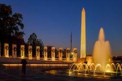 Monumentos à Noite: Excursão de Bonde em Washington DC
