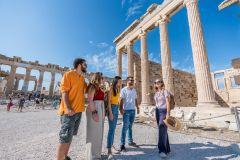 Atenas: Tour Guiado Acrópole em Pequenos Grupos c/ Ingresso