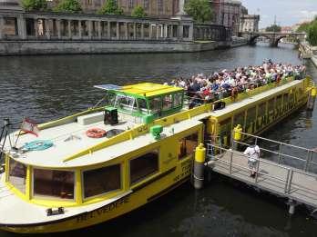East-Side-Tour: 2,5-stündige Spreerundfahrt Berlin