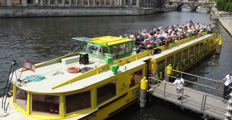 East Side Tour: 2.5-Hour Boat Cruise in Berlin