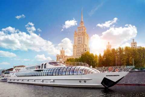 Moscow: River Boat Tour with a Private Guide