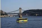 budapest by land and water: floating bus tour