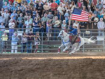 San Antonio: Samstagabend Rodeo General Admission Ticket
