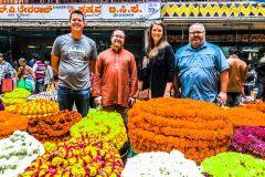 Bangalore: passeio a pé pelo forte, palácios e mercado