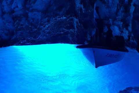 From Hvar: Blue Cave, Vis and Pakleni Speedboat Tour