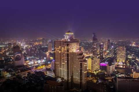 Bangkok: Lebua Rooftop Bar Reservation & Round-Trip Transfer