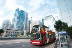 Hong Kong: Tour Ônibus Conversível Hop-On Hop-Off Big Bus