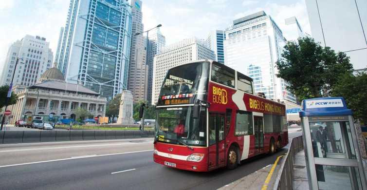 Hong Kong: Big Bus Open-Top Hop-on Hop-off Sightseeing Tour