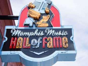 Eintrittskarte für die Memphis Music Hall of Fame