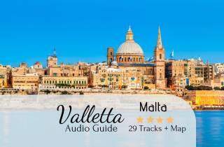 Valletta: Selbstgeführte Audio-Tour, Karte & Wegbeschreibung