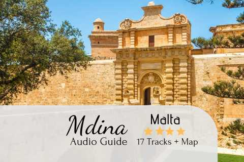 Mdina Audio Tour with Map and Directions