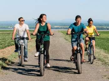 Île d'Orléans: Verkostung von Speisen und kulturelle E-Bike-Tour