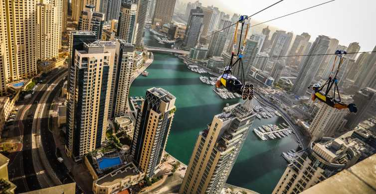 Dubai: Zip Line across the Marina