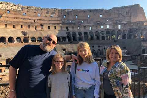 Rom: Barnvänlig Skip-the-Line Colosseum och History Tour