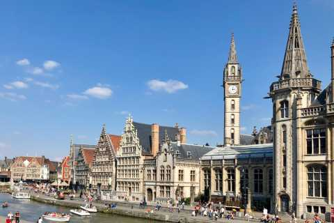 From Amsterdam: Full-Day Tour to Ghent