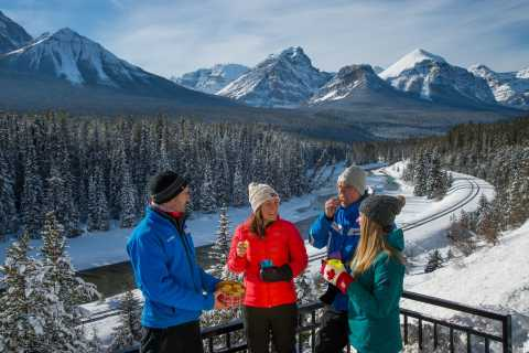 From Banff: Lake Louise Full-Day Winter Tour