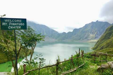 From Manila: Mount Pinatubo Volcano Trekking Adventure Tour