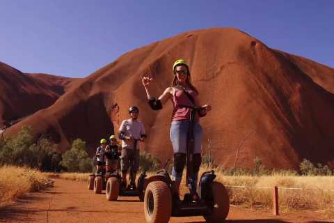 Uluru: Sunrise Guided Base Tour on Segway with Breakfast