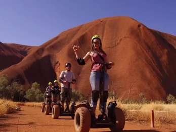 Uluru: Segway-Tour bei Sonnenaufgang mit Frühstück