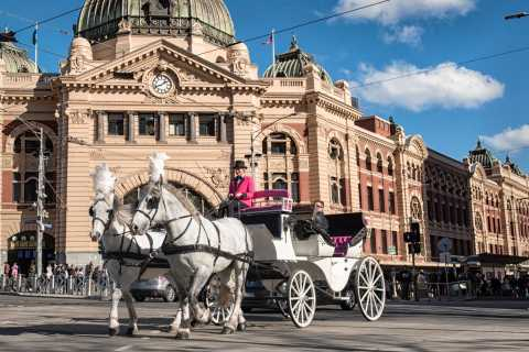 Melbourne: City and Garden Tour in Horse-Drawn Carriage