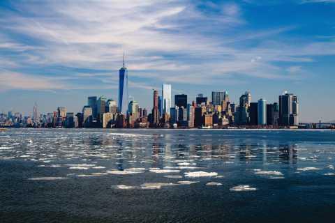 New York: Rundtur med morgonsiluett av staden