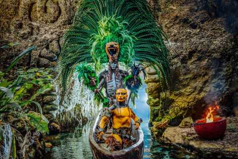 From Riviera Maya: Xcaret Plus with Buffet & Transportation