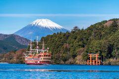 Excursão de Barco e Ônibus Monte Fuji e Hakone