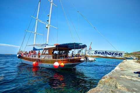Malte: Gozo, Comino et grotte bleue en bateau