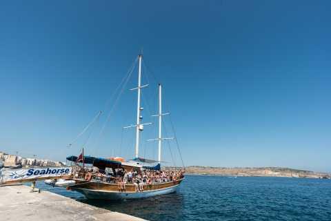 Malte: Comino, lagon bleu et grottes en une journée
