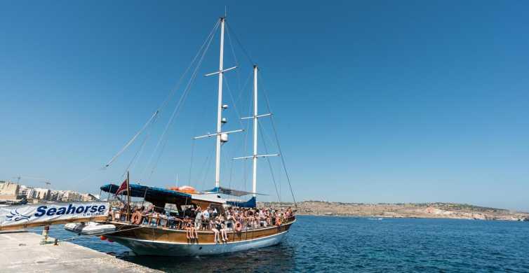 Malta: viaje de 1 día de Comino, la laguna Azul y cuevas