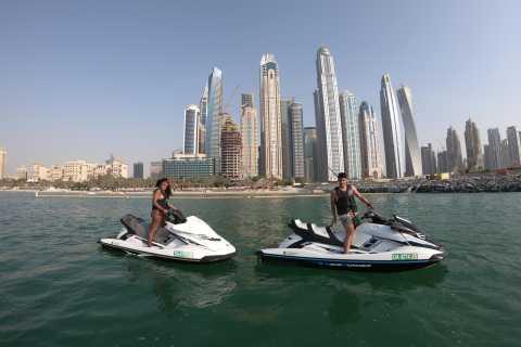 Dubai: noleggio moto d'acqua di 1 ora a Mina Seyahi