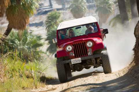 San Andreas Fault Zone 4WD Tour from Palm Desert