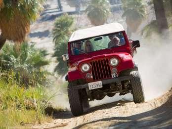 San Andreas Fault Zone 4WD Tour ab Palm Desert