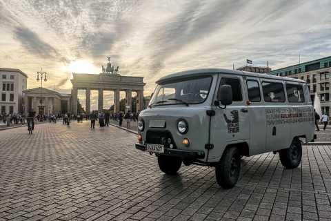 Berlin: Private Soviet Tour in a Russian Minibus