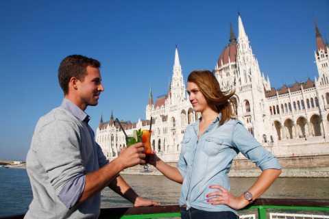 Budapest: Sightseeing-Bootsfahrt mit Getränkeauswahl