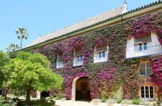 Sevilla: Las Dueñas Palace Ticket und Audioguide