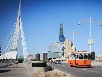Winnipeg: 2-stündige Stadtrundfahrt mit dem Trolley