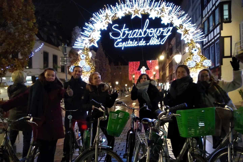 Straßburger Weihnachtsmärkte: 2,5-stündige Fahrradtour