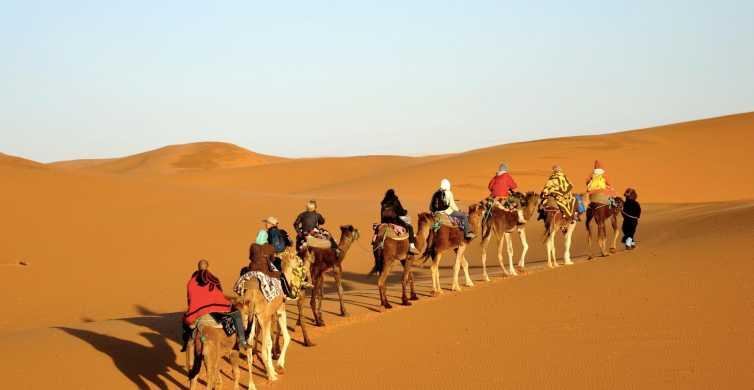Desde Marrakech: viaje privado de 3 días al desierto a Merzouga