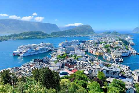 Alesund: 3-Hour Sightseeing Tour