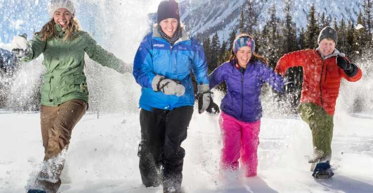 From Banff: Snowshoeing Tour in Kootenay National Park