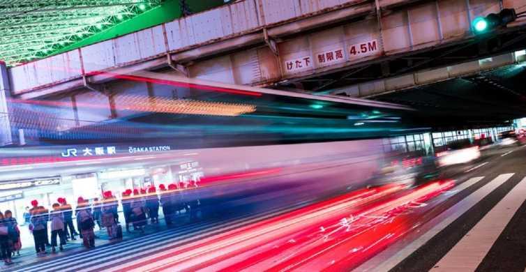 Osaka: visite photographique de nuit