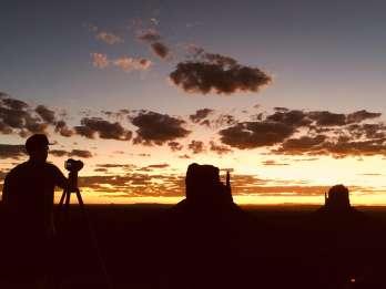 Monument Valley: Tour bei Sonnenuntergang