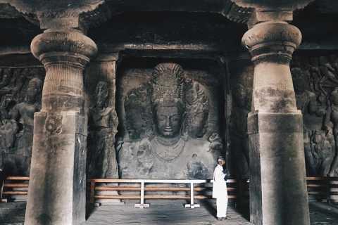 Mumbai: Elephanta Island and Mumbai City Tour