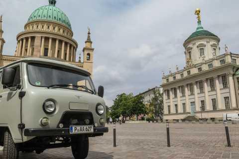 Potsdam: Private Highlights-Tour in einem Oldtimer-Minibus