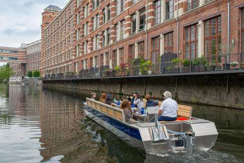 Leipzig: Mulled Wine Motorboat Tour