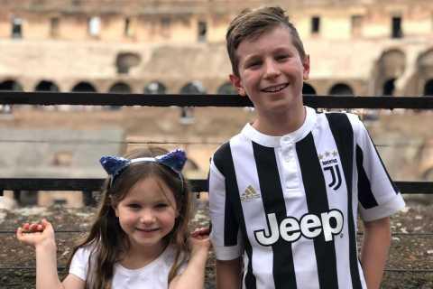 Rom: Colosseum, Forum & Pantheon-turné för barn med Gelato