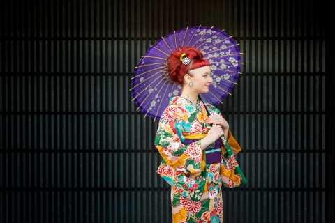 Kyoto: Rent a Kimono for 1 day